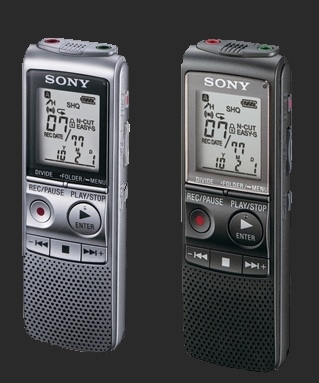 Carolina Paranormal Charlotte NC Ghost Hunters Voice Recorders used in Haunted Locations for capturing EVP
