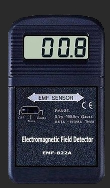 Carolina Paranormal Charlotte NC Ghost Hunters Electromagnetic EMF Detector used for investigating haunted locations
